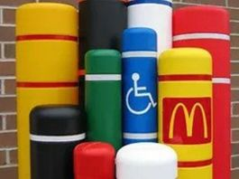 bollards covers color